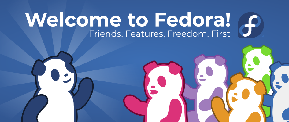 Welcome to Fedora banner