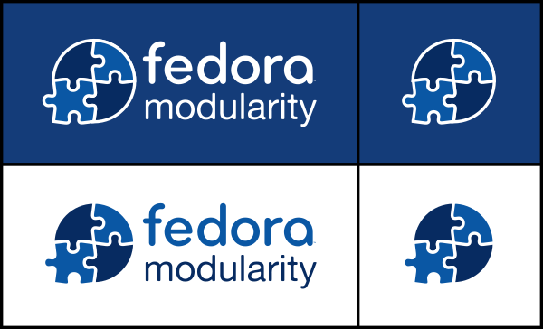 Fedora Modularity logo preview